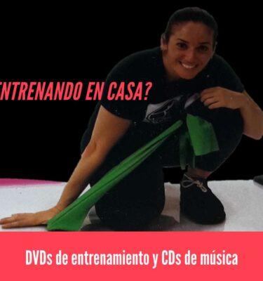 DVDs y CDs para entrenamiento